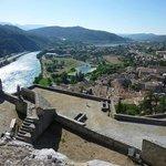 Sisteron vue de la citadelle