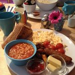Delicious breakfast - choice of in your room or breakfast room!