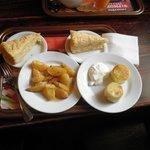 Картошечка, сырнички, Наполеон.