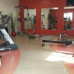 Dalle de fitness
