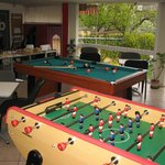Table football in pension