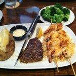 Renegade Steak with Redrock Grilled Shrimp
