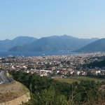marmaris from hill top