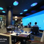 Dining with a view of undersea life