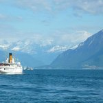 Ship to Evian Aux Bains across from Lausanne