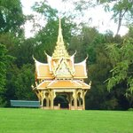 the Thai Pavilion by the lake