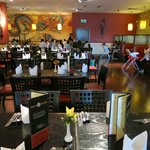 Jimmy Spices Restaurant Dining Area- Sutton Coldfield