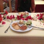 Birthday table thank you moussa