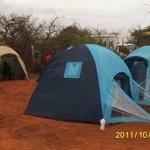 Camping at Muteleu Village