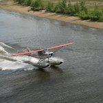 Sea Plane demonstration.