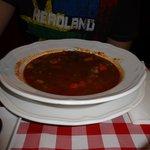 Primero del Menú: Sopa de Goulash