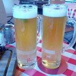 Birra con sciroppo di sambuco