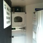 Fridge, Freezer, First Aid, Washer Dryer Area