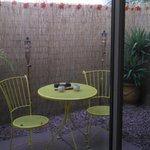 Private Patio perfect for morning coffee