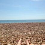 Seatown beach nearby