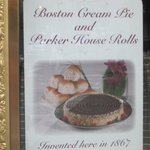 home of Boston Cream Pie