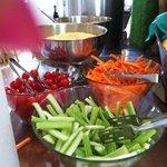 Buffet di verdure