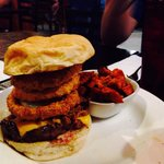 The legendary pit burger