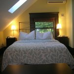 Skylight Room - bed is to right of entry