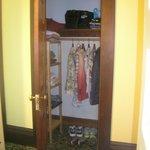 Skylight Room - end of private hallway/closet
