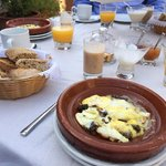 Breakfast at Riad Idra
