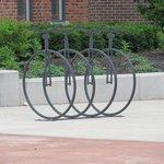 Bicycle Rack Outside