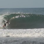 Nice hollow surf