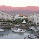 Sunset over Eilat from Dan Panorama