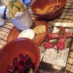 Greek mezze night - yum !