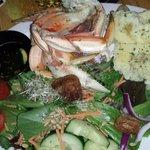 Dungeness Crab Legs Dinner