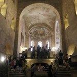 音響効果抜群でコンサートも開かれる聖イジ―教会