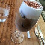 Wonderful iced cappuccino