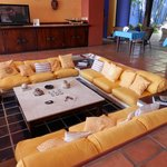 sunken living room in main foyer - relaxxxx!