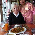 Me with Mrs Ubon