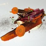 Carrot, Coconut, Olive, Goat's Curd