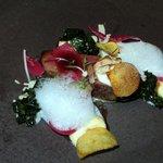 Venison, Gouda, Onion, Kale