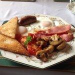 breakfast at Grange Farm - as good as it looks!