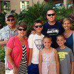 Padberg & Mitchell family at Honua Kai