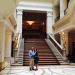 Corinthian Hotel Budapest lobby 5/14.
