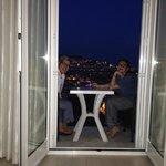 Balcony from one room of Vista Azzurra
