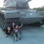 Army Tank at the Park