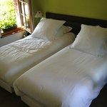 Chambre avec 2 lits simple au 1er etage