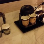 coffee in the room