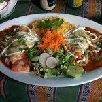 Burritos oaxacanos.