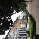 Magnolias and fantastic architecture along Bathhouse Row