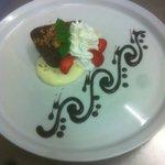 semifreddo cioccolato e amaretti con crema al mascarpone