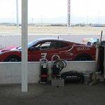 Ferrari Challenge 430 Race Car in the Pit