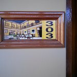 Room number plaques
