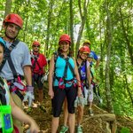 Blue Ridge Experience includes a 3600ft zip!