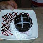 The bomba dessert. Yummy